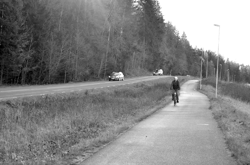 Cykelplan, fotograf Anneli Fredriksson
