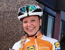 Sara Olsson, cyklist, foto privat