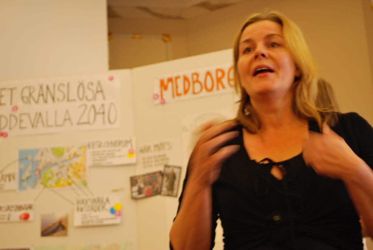 Yvonne Nyman förklarar varför Det gränslösa Uddevalla är viktigt
