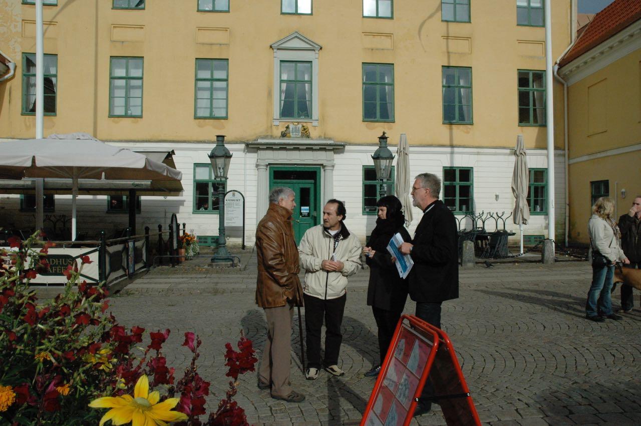 George Athic, Fransesca Hansen och Bo Glans. Paula Stalfors ej med på bilden